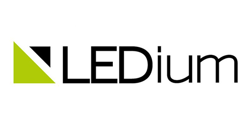 ledium logo side